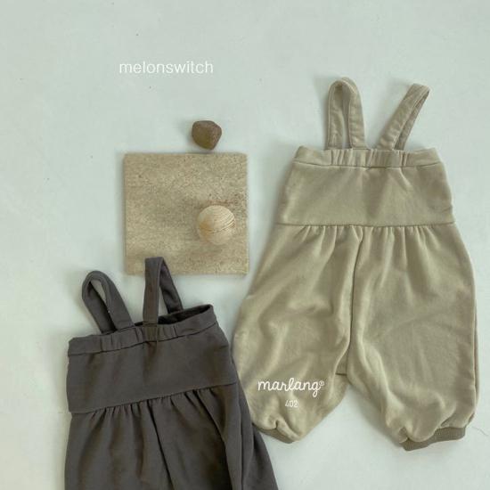 MELONSWITCH - Korean Children Fashion - #Kfashion4kids - Soft Suspender Pants - 12