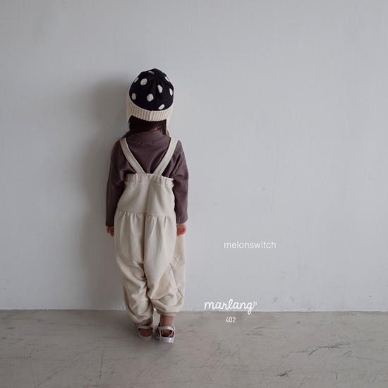 MELONSWITCH - Korean Children Fashion - #Kfashion4kids - Soft Suspender Pants - 3