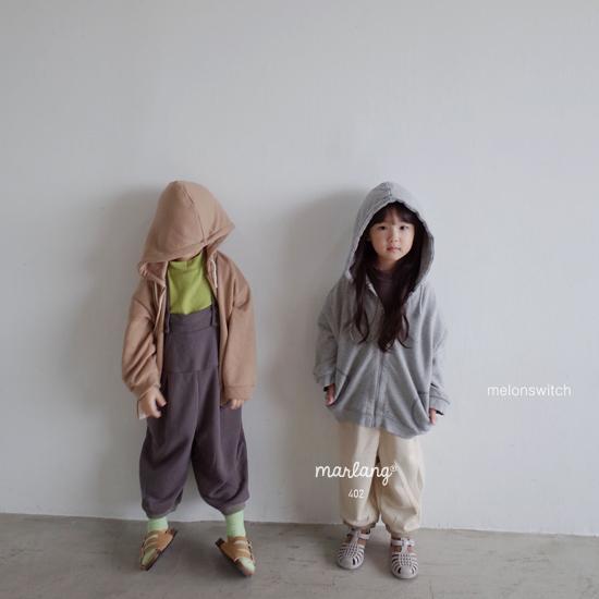 MELONSWITCH - Korean Children Fashion - #Kfashion4kids - Soft Suspender Pants - 6