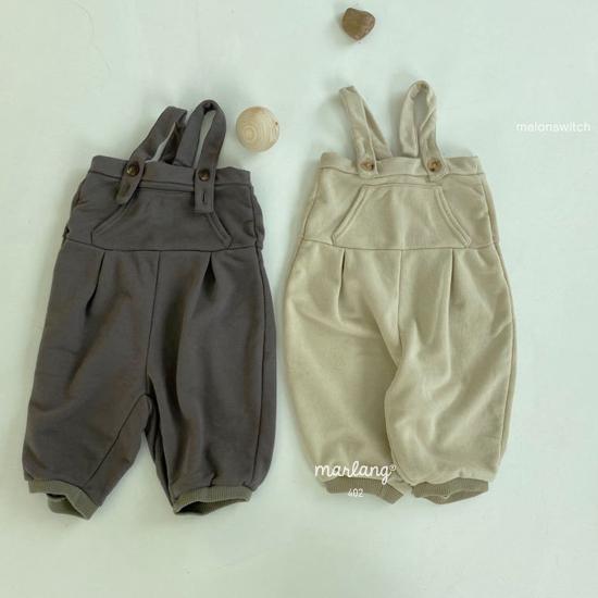 MELONSWITCH - Korean Children Fashion - #Kfashion4kids - Soft Suspender Pants - 8