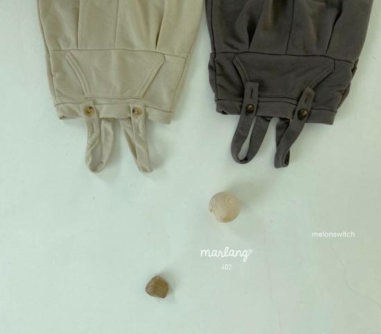MELONSWITCH - Korean Children Fashion - #Kfashion4kids - Soft Suspender Pants - 9