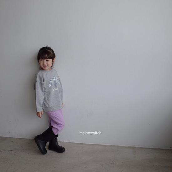 MELONSWITCH - Korean Children Fashion - #Kfashion4kids - Rib Pants - 10