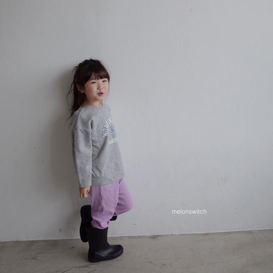 MELONSWITCH - Korean Children Fashion - #Kfashion4kids - Rib Pants - 11