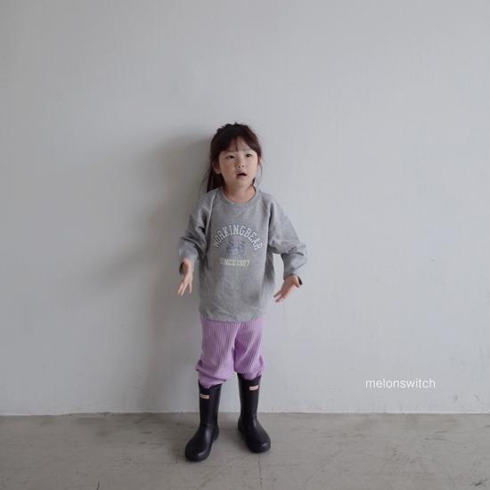 MELONSWITCH - Korean Children Fashion - #Kfashion4kids - Rib Pants - 12