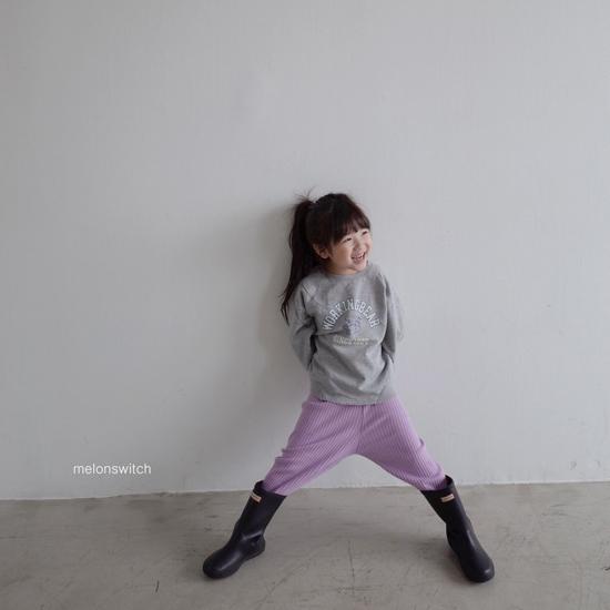 MELONSWITCH - Korean Children Fashion - #Kfashion4kids - Rib Pants - 9