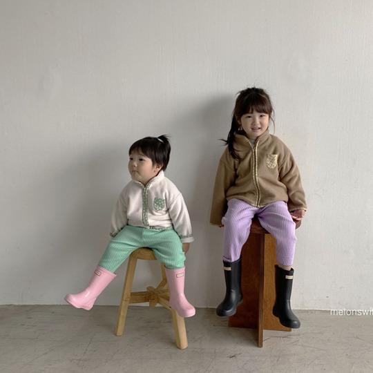 MELONSWITCH - BRAND - Korean Children Fashion - #Kfashion4kids - Rib Pants
