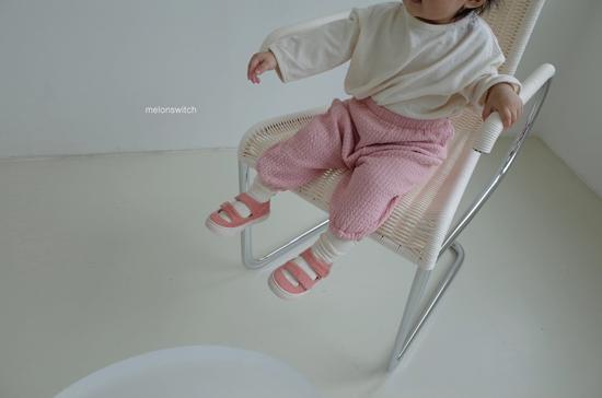 MELONSWITCH - Korean Children Fashion - #Kfashion4kids - Choco Balloon Pants - 2