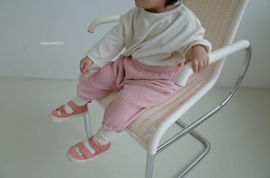 MELONSWITCH - Korean Children Fashion - #Kfashion4kids - Choco Balloon Pants - 4