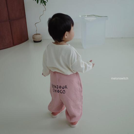 MELONSWITCH - Korean Children Fashion - #Kfashion4kids - Choco Balloon Pants - 6