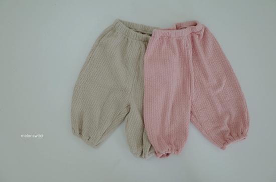 MELONSWITCH - Korean Children Fashion - #Kfashion4kids - Choco Balloon Pants - 9