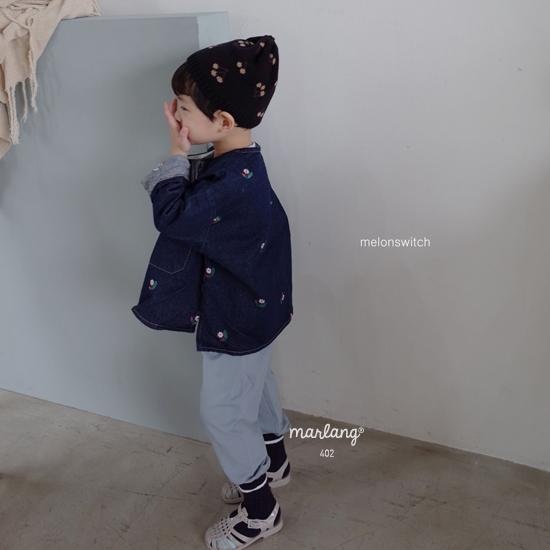MELONSWITCH - Korean Children Fashion - #Kfashion4kids - Cherry Knit Hat - 10