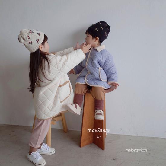 MELONSWITCH - Korean Children Fashion - #Kfashion4kids - Cherry Knit Hat - 2