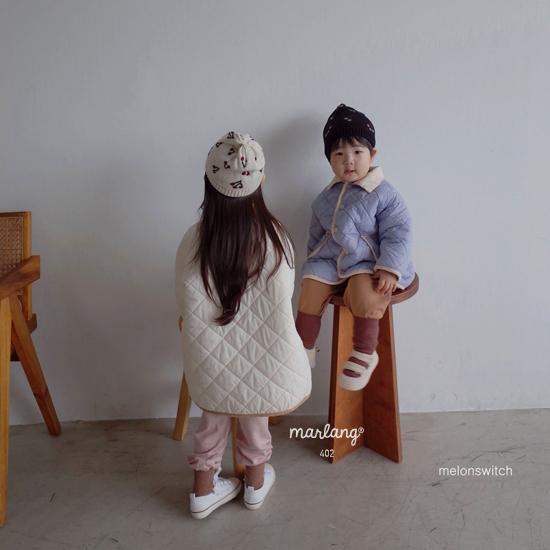 MELONSWITCH - Korean Children Fashion - #Kfashion4kids - Cherry Knit Hat - 3