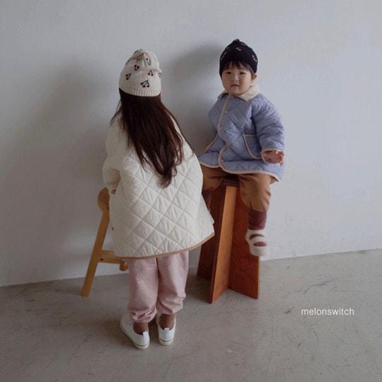 MELONSWITCH - BRAND - Korean Children Fashion - #Kfashion4kids - Cherry Knit Hat
