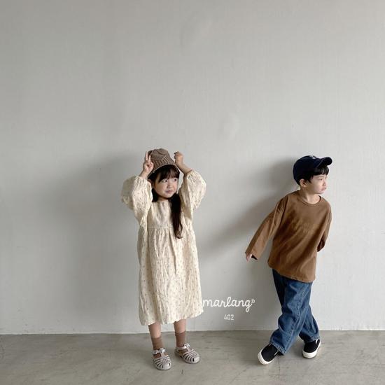 MELONSWITCH - Korean Children Fashion - #Kfashion4kids - Tough Wide Denim Pants - 10