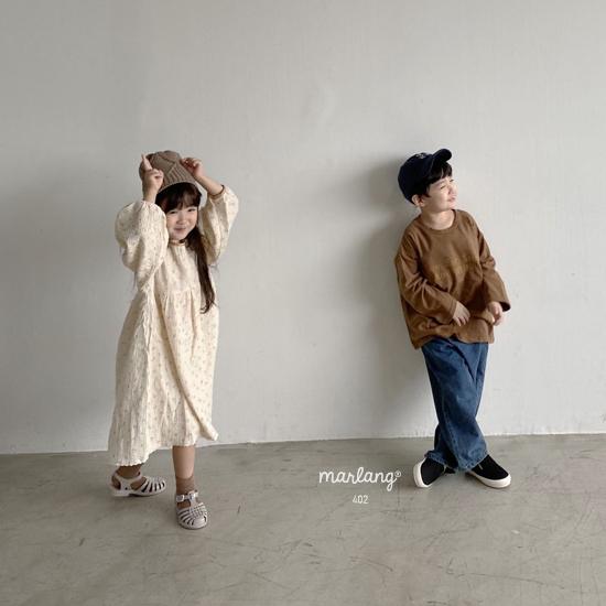 MELONSWITCH - Korean Children Fashion - #Kfashion4kids - Tough Wide Denim Pants - 12