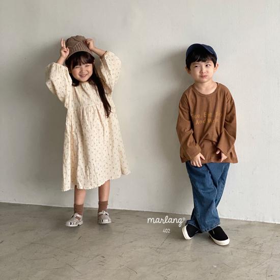 MELONSWITCH - Korean Children Fashion - #Kfashion4kids - Tough Wide Denim Pants - 9