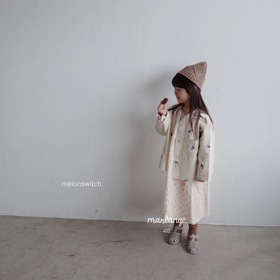 MELONSWITCH - Korean Children Fashion - #Kfashion4kids - Cherry Taste One-piece - 12