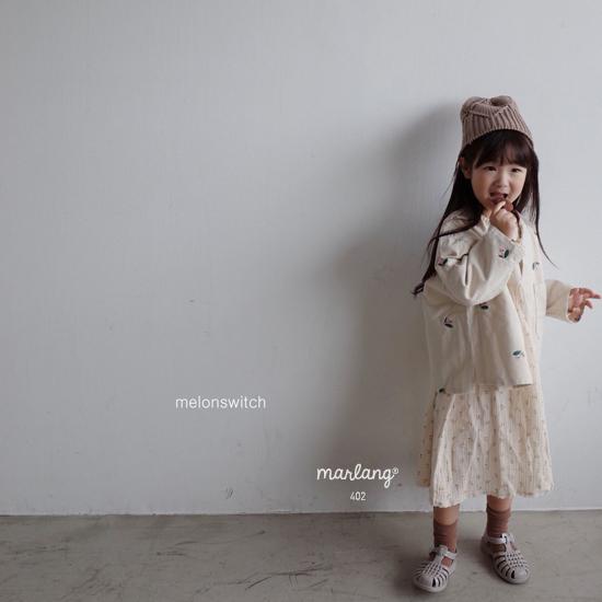 MELONSWITCH - Korean Children Fashion - #Kfashion4kids - Cherry Taste One-piece - 5