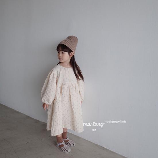 MELONSWITCH - Korean Children Fashion - #Kfashion4kids - Cherry Taste One-piece - 6