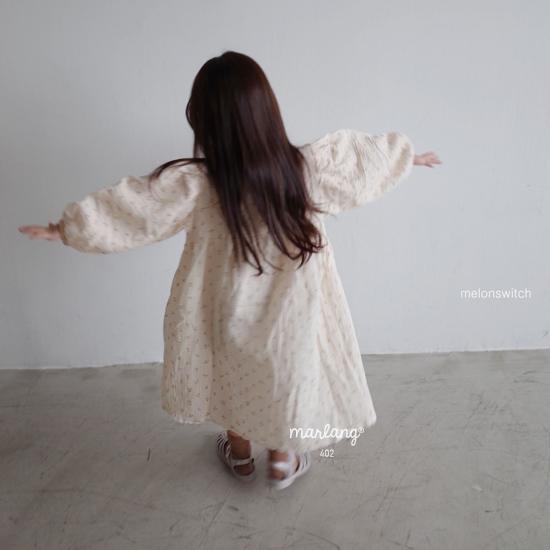 MELONSWITCH - Korean Children Fashion - #Kfashion4kids - Cherry Taste One-piece - 7