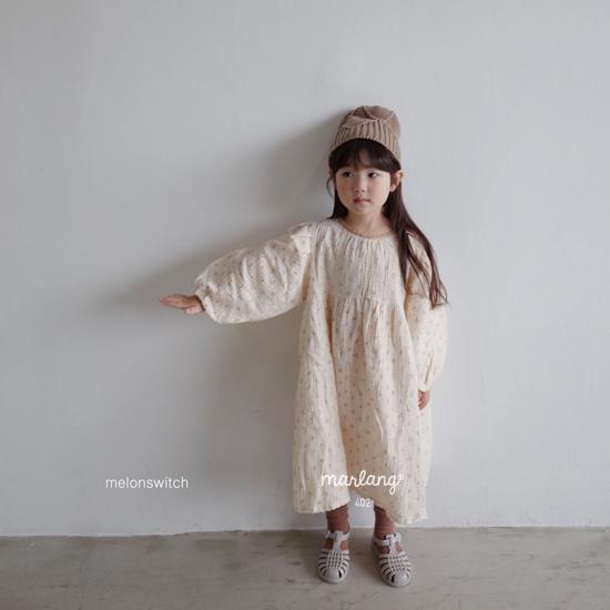 MELONSWITCH - Korean Children Fashion - #Kfashion4kids - Cherry Taste One-piece - 9