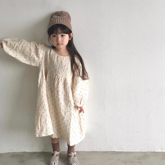 MELONSWITCH - BRAND - Korean Children Fashion - #Kfashion4kids - Cherry Taste One-piece