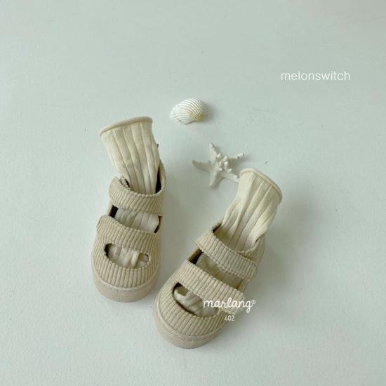 MELONSWITCH - Korean Children Fashion - #Kfashion4kids - Baguette Shoes