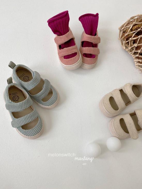 MELONSWITCH - Korean Children Fashion - #Kfashion4kids - Baguette Shoes - 12