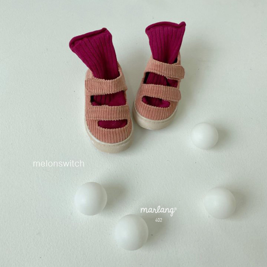 MELONSWITCH - Korean Children Fashion - #Kfashion4kids - Baguette Shoes - 9