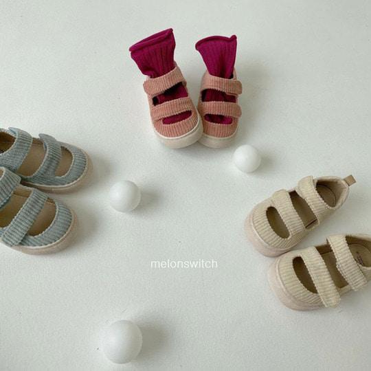 MELONSWITCH - BRAND - Korean Children Fashion - #Kfashion4kids - Baguette Shoes