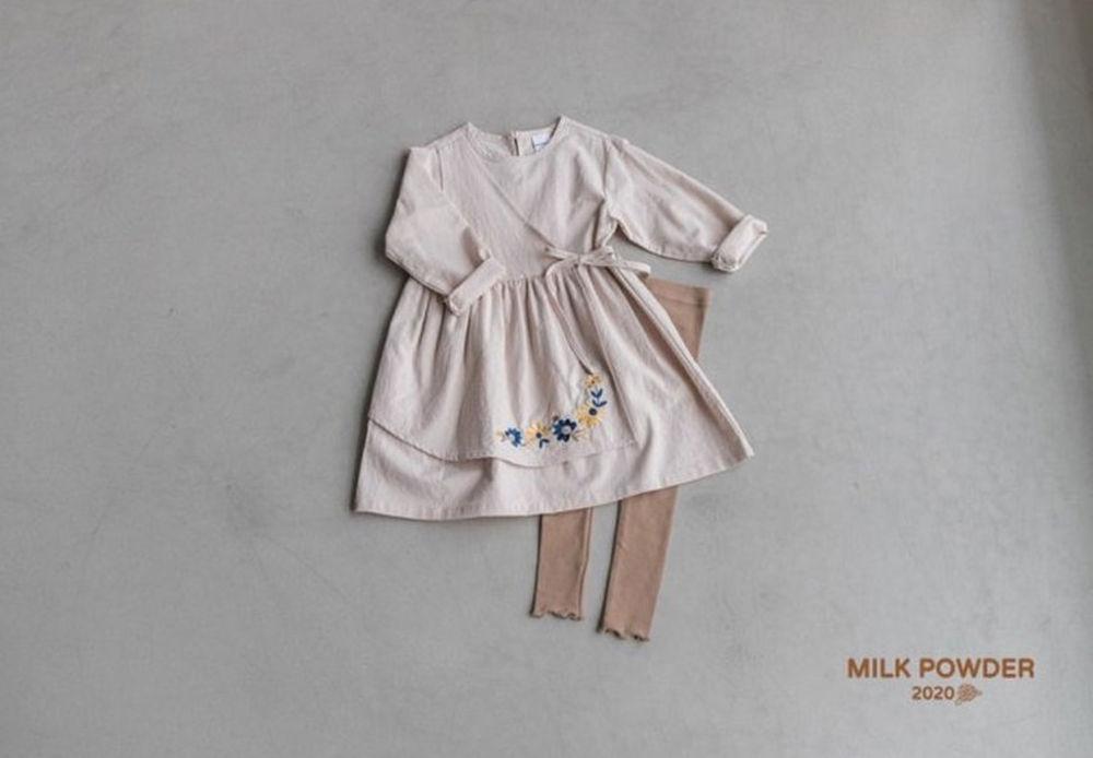 MILK POWDER - Korean Children Fashion - #Kfashion4kids - Cozy One-piece