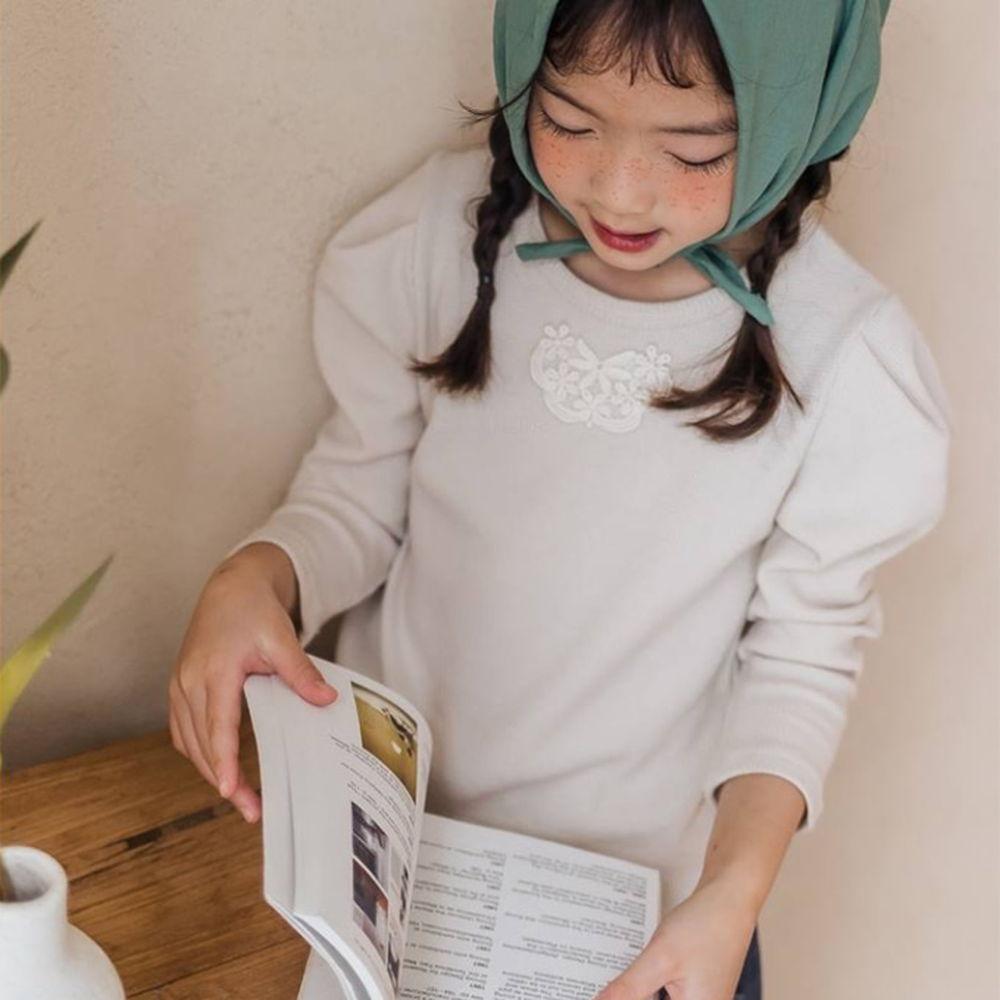 MILK POWDER - BRAND - Korean Children Fashion - #Kfashion4kids - Waffle Puff Tee