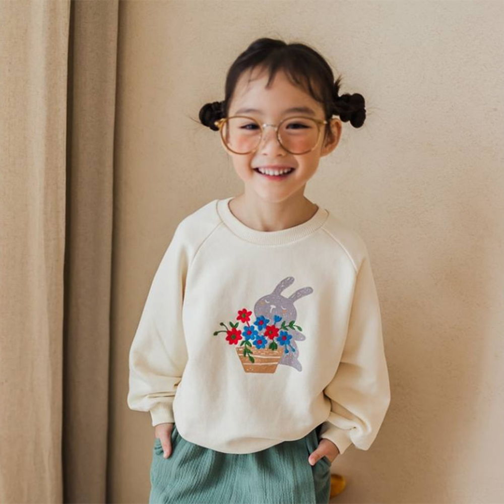 MILK POWDER - BRAND - Korean Children Fashion - #Kfashion4kids - Rabbit MTM