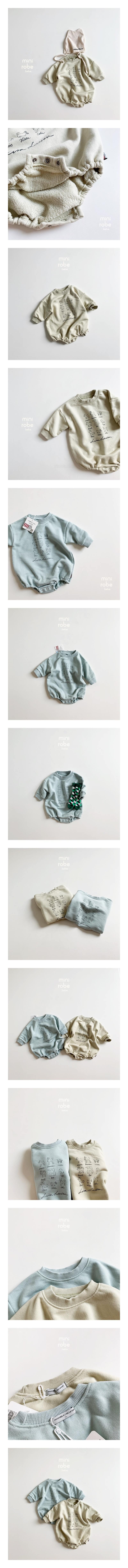 MINI ROBE - Korean Children Fashion - #Kfashion4kids - Lisa Friends Bodysuit
