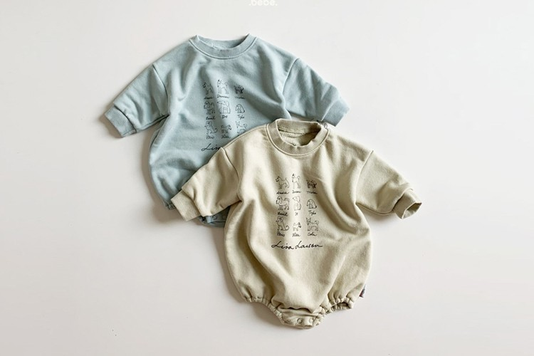 MINI ROBE - BRAND - Korean Children Fashion - #Kfashion4kids - Lisa Friends Bodysuit