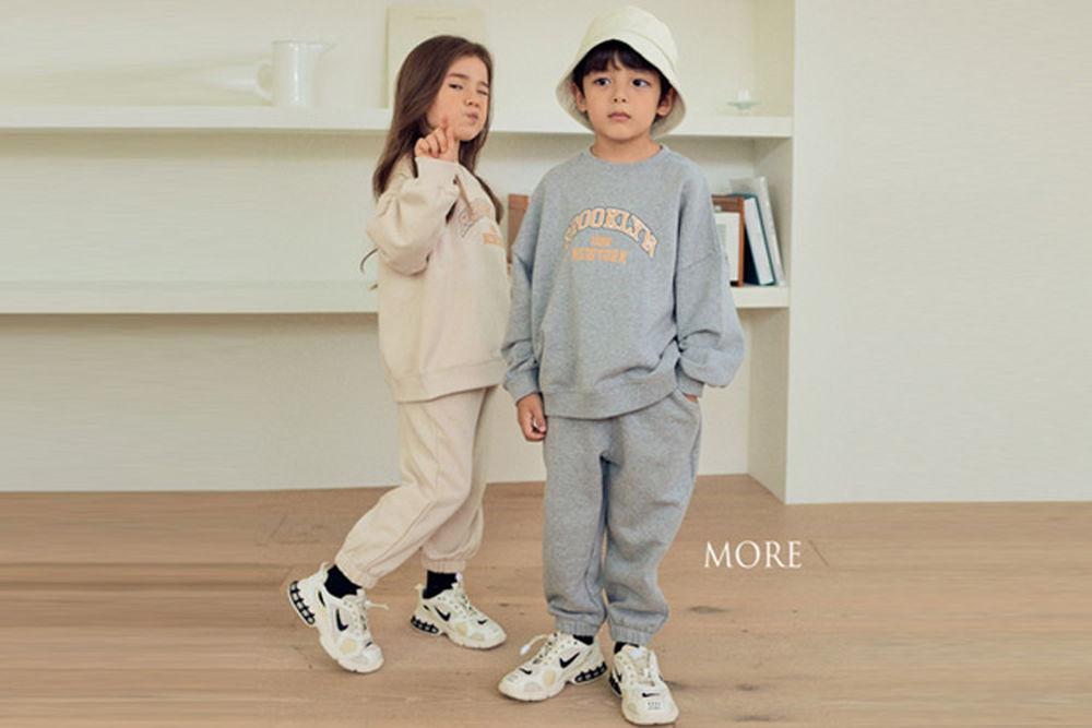MORE - BRAND - Korean Children Fashion - #Kfashion4kids - Brooklyn Top Bottom Set