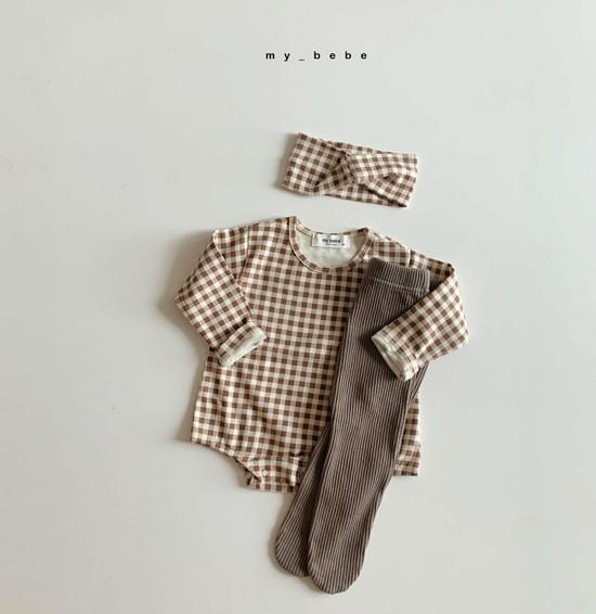 MY BEBE - Korean Children Fashion - #Kfashion4kids - Rib Foot Leggings - 11