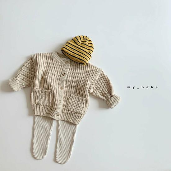 MY BEBE - Korean Children Fashion - #Kfashion4kids - Rib Foot Leggings - 3