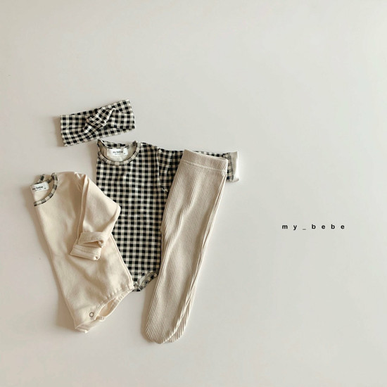 MY BEBE - Korean Children Fashion - #Kfashion4kids - Rib Foot Leggings - 5
