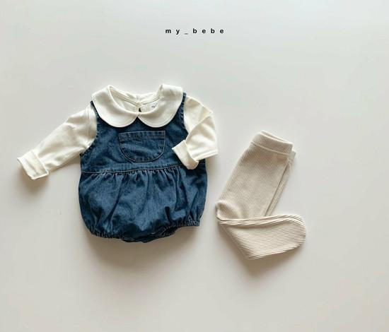 MY BEBE - Korean Children Fashion - #Kfashion4kids - Rib Foot Leggings - 8