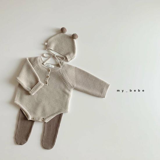 MY BEBE - Korean Children Fashion - #Kfashion4kids - Rib Foot Leggings - 9