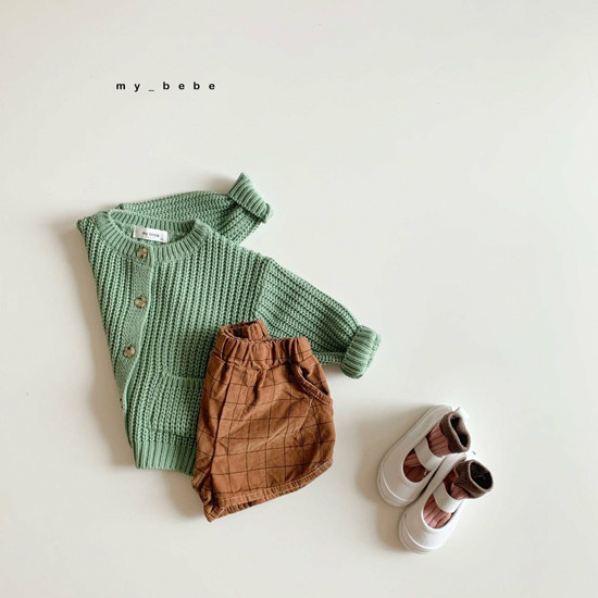 MY BEBE - Korean Children Fashion - #Kfashion4kids - Hazzi Knit Cardigan - 11