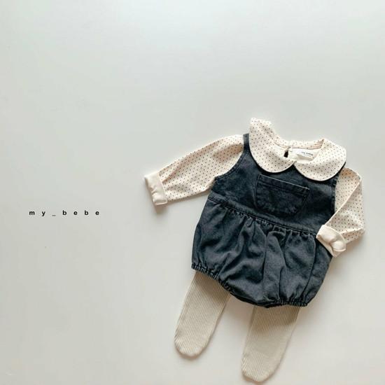 MY BEBE - Korean Children Fashion - #Kfashion4kids - Autumn Pumpkin Bodysuit - 6