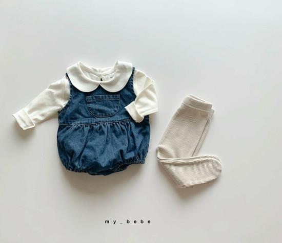 MY BEBE - Korean Children Fashion - #Kfashion4kids - Autumn Pumpkin Bodysuit - 7