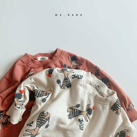 MY BEBE - Korean Children Fashion - #Kfashion4kids - Puddle Top Blommer Set - 12