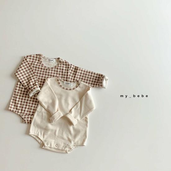 MY BEBE - Korean Children Fashion - #Kfashion4kids - Two Rompers Set with Hairband - 3