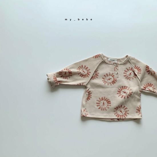 MY BEBE - Korean Children Fashion - #Kfashion4kids - Waffle Tee - 10