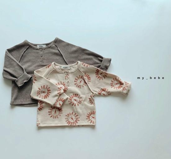 MY BEBE - Korean Children Fashion - #Kfashion4kids - Waffle Tee - 2