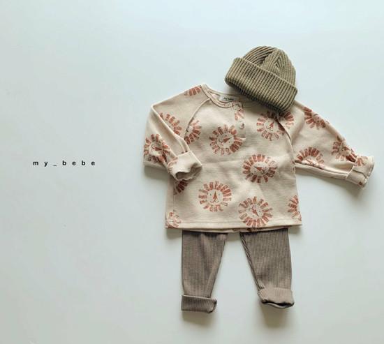 MY BEBE - Korean Children Fashion - #Kfashion4kids - Waffle Tee - 9